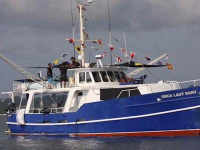 53ft steel hull surf charter