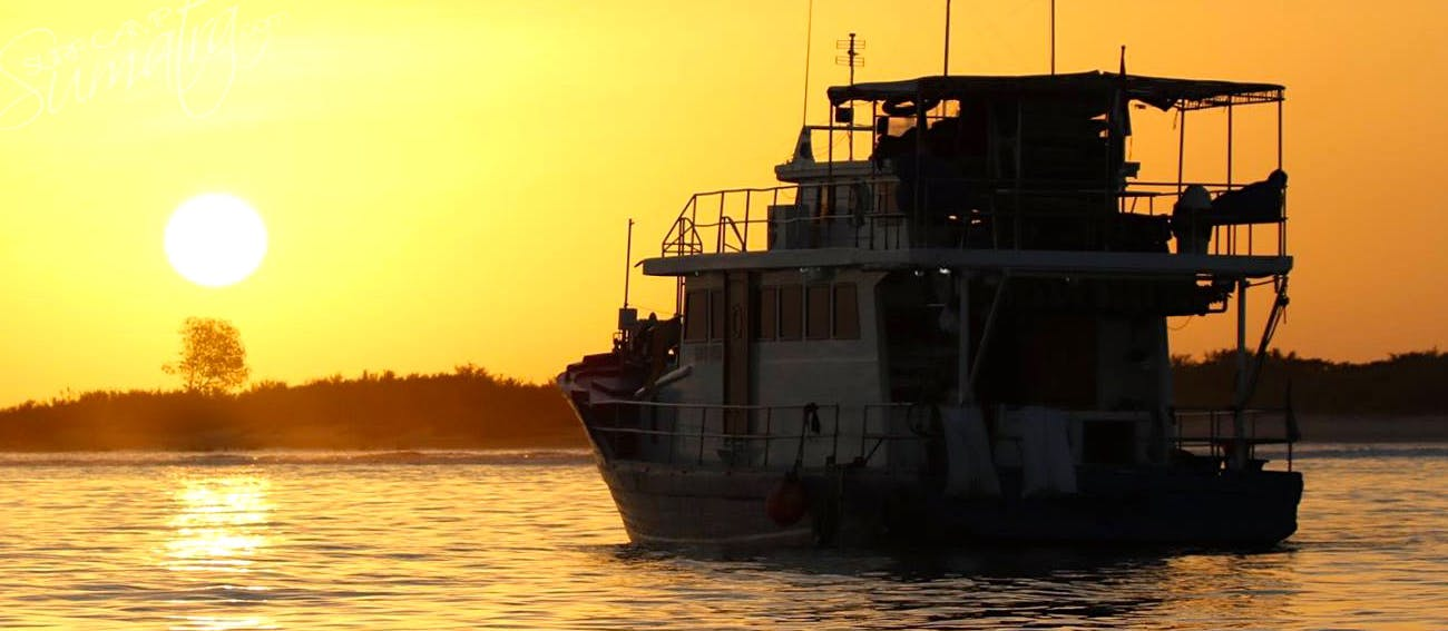 Dusk in the Mentawai islands