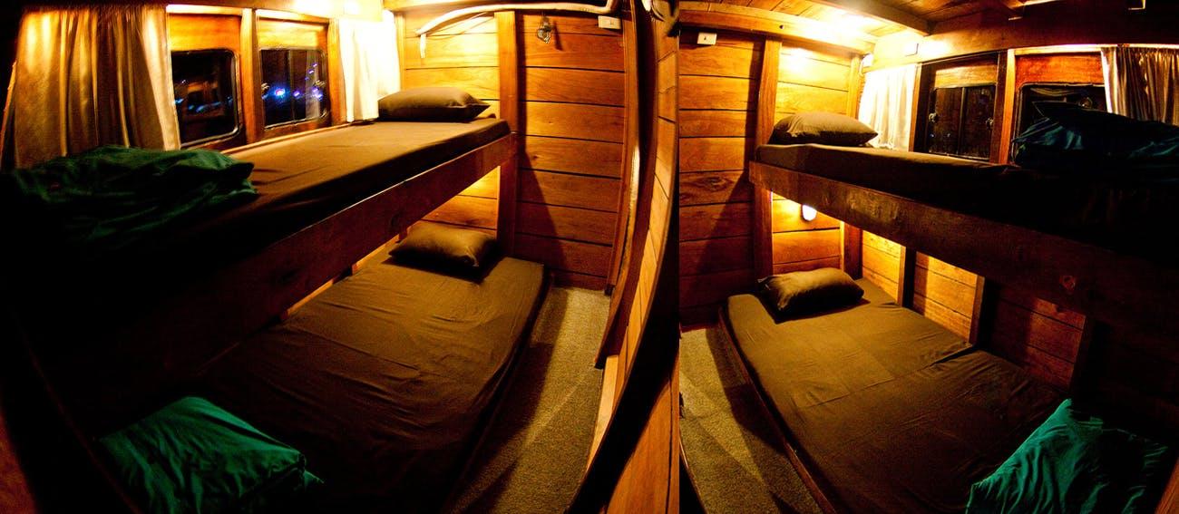 2 private guest cabins