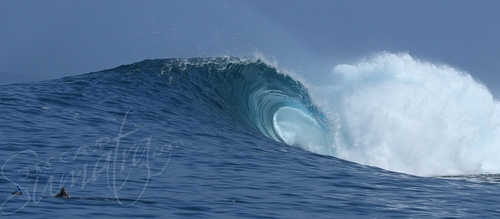 The southern Telo Islands are blessed with mellow options but also offers a number of hollow waves