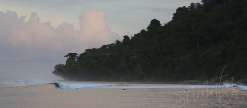 Treasure island in the Banyak Islands