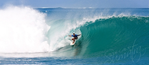 Macaronis Left Mentawai Islands