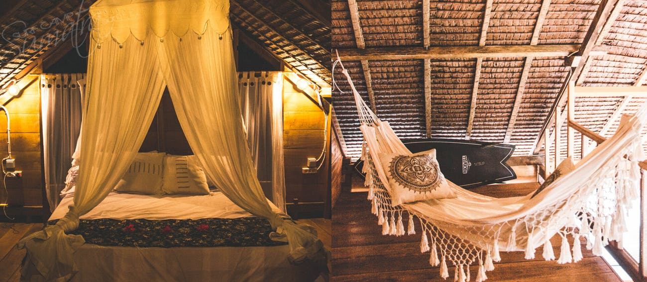 couple room driftwood mentawai