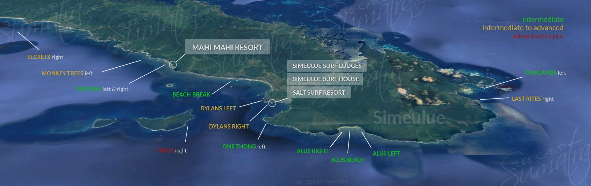Simeulue surf map