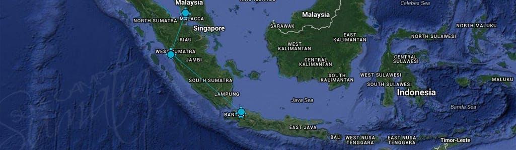 map of mentawai