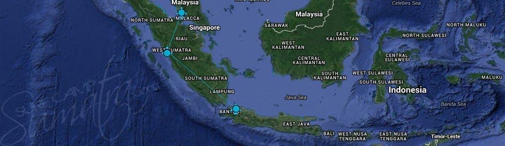 map mentawai