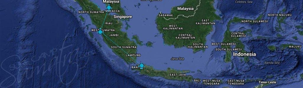 mentawai map