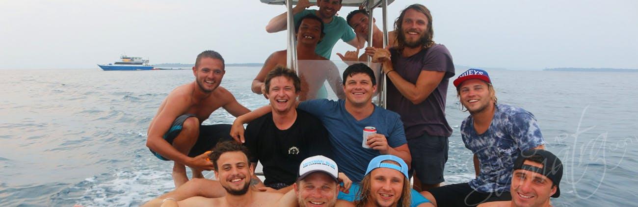 surf charter naga laut