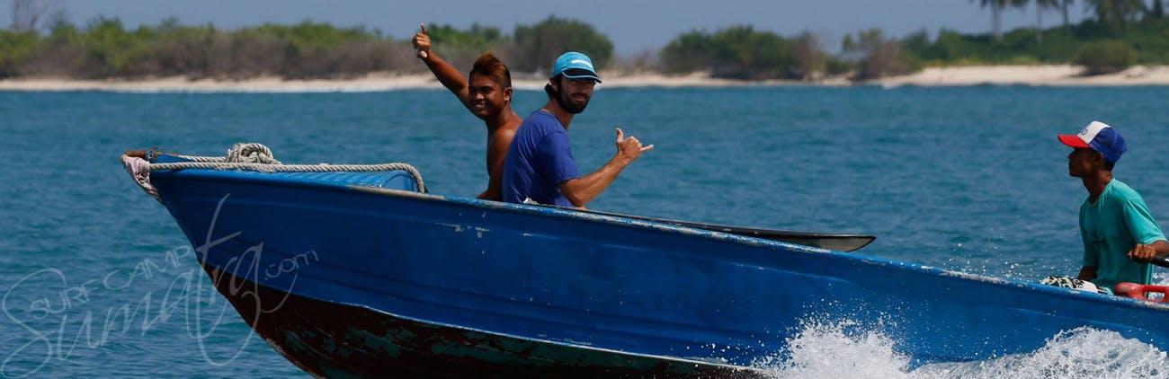Surf Boat mentawai