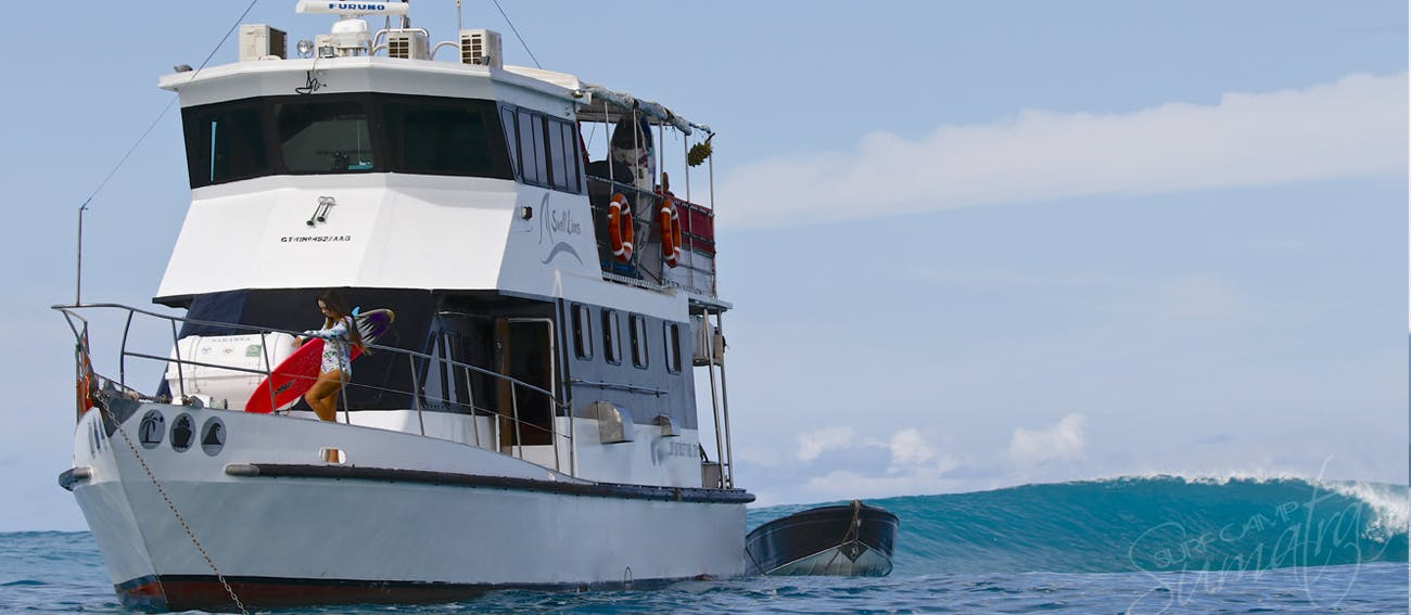 surf charter boat