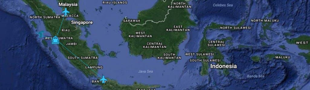 Travelling to Sumatra